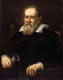 Portrait of Galileo Galilei by Giusto Sustermans